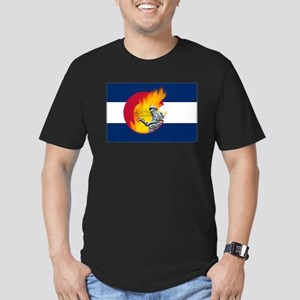 Black Forest Fire, Colorado Springs Men's Fitted T