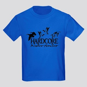 DUCK AND GOOSE HUNTING Kids Dark T-Shirt