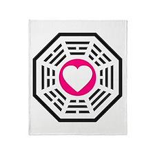 Dharma Love Throw Blanket