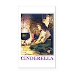Cinderella Rectangle Car Magnet