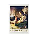 Cinderella Rectangle Magnet (10 pack)