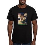 Cinderella Men's Fitted T-Shirt (dark)