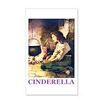 Cinderella 35x21 Wall Decal