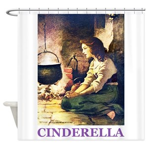 Fairy Godmother Shower Curtains