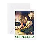 Cinderella Greeting Cards (Pk of 10)