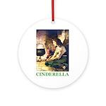 Cinderella Ornament (Round)