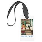 Goldilocks Large Luggage Tag