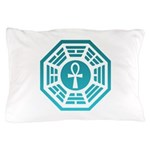 Dharma Blue Ankh Pillow Case