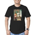 Goldilocks Men's Fitted T-Shirt (dark)