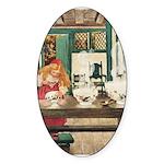 Goldilocks Sticker (Oval 10 pk)
