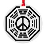 Dharma Peace Round Ornament