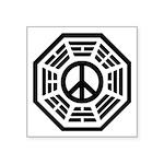 Dharma Peace Square Sticker 3
