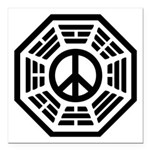 Dharma Peace Square Car Magnet 3