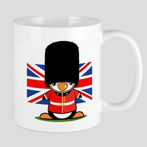 British Soldier Penguin Mug
