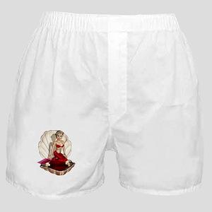 Cute Cartoon Mermaid Boxer Shorts