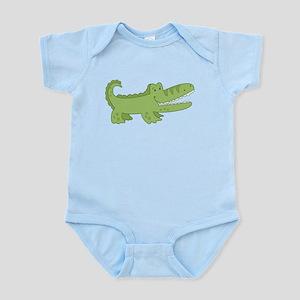 Cutest Green Alligator Body Suit