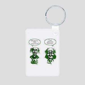 Higgs Boson Humor Aluminum Photo Keychain