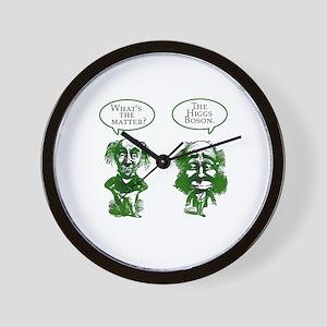 Higgs Boson Humor Wall Clock