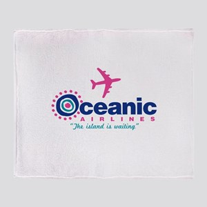 Oceanic Airlines Throw Blanket
