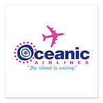 Oceanic Airlines Square Car Magnet 3