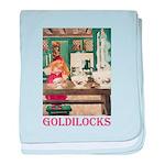 Goldilocks baby blanket