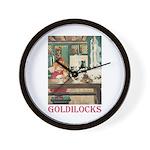 Goldilocks Wall Clock