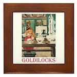 Goldilocks Framed Tile
