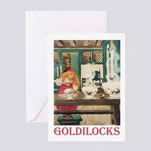 Goldilocks Greeting Card
