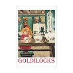 Goldilocks Mini Poster Print