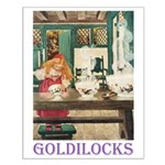 Goldilocks Small Poster