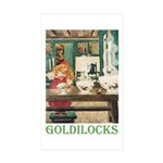 Goldilocks Sticker (Rectangle 50 pk)