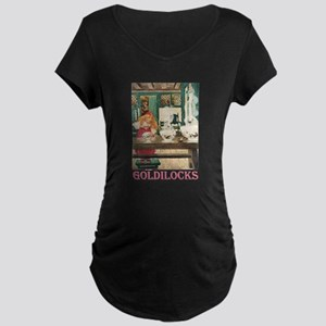 Goldilocks Maternity Dark T-Shirt