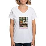 Goldilocks Women's V-Neck T-Shirt