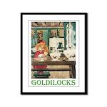 Goldilocks Framed Panel Print
