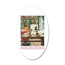 Goldilocks Wall Decal