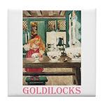 Goldilocks Tile Coaster