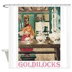 Goldilocks Shower Curtain