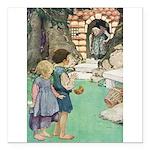 Hansel and Gretel Square Car Magnet 3