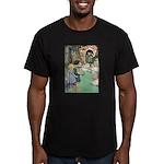 Hansel and Gretel Men's Fitted T-Shirt (dark)