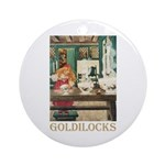 Goldilocks Ornament (Round)