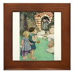 Hansel and Gretel Framed Tile