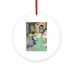 Hansel and Gretel Ornament (Round)