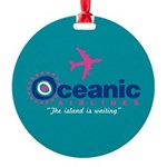 Oceanic Airlines Round Ornament