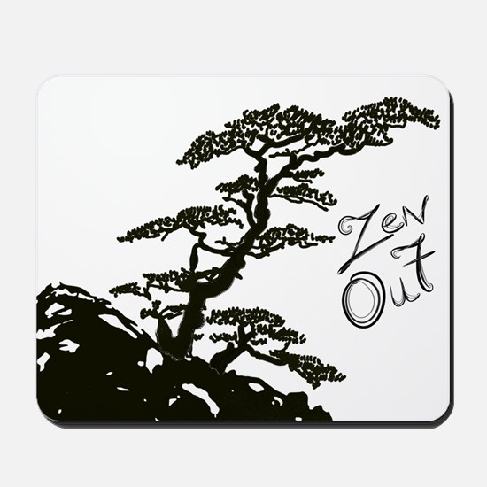 Zen Tree (Zen Out) Mousepad