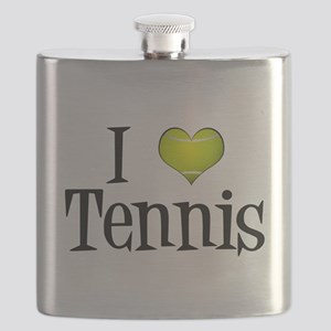 I Heart Tennis Flask
