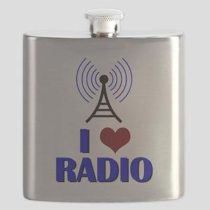 I Love Radio Flask