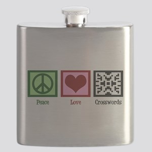 Peace Love Crosswords Flask