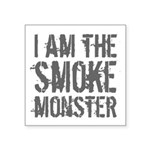 Smoke Monster Square Sticker 3
