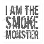 Smoke Monster Square Car Magnet 3