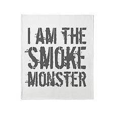 Smoke Monster Throw Blanket